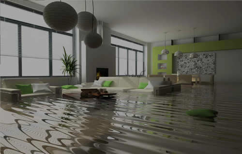 Example of Water Damage